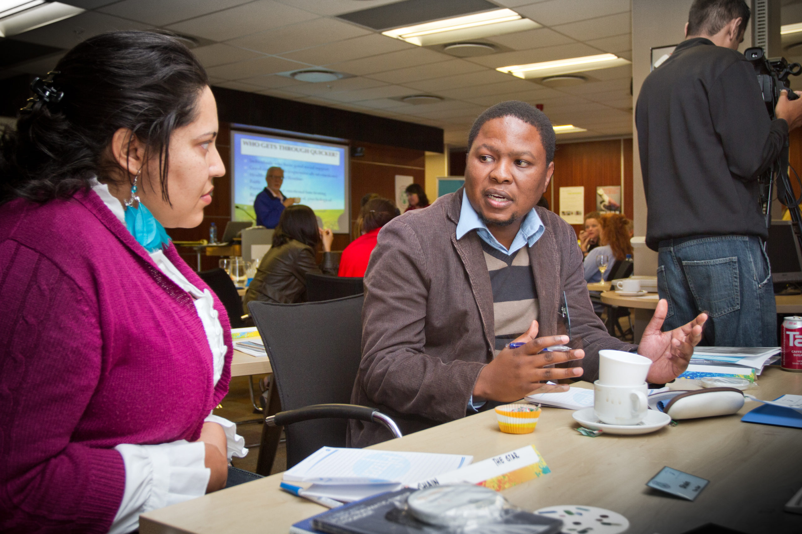 Carter Center seminar for responsible reporting on mental health, Johannesburg. 4th to 5th April 2011.