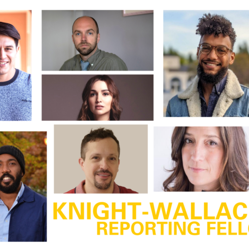 Knight-Wallace Reporting Fellows for the 2020-2021 academic year. (Photo/University of Michigan)