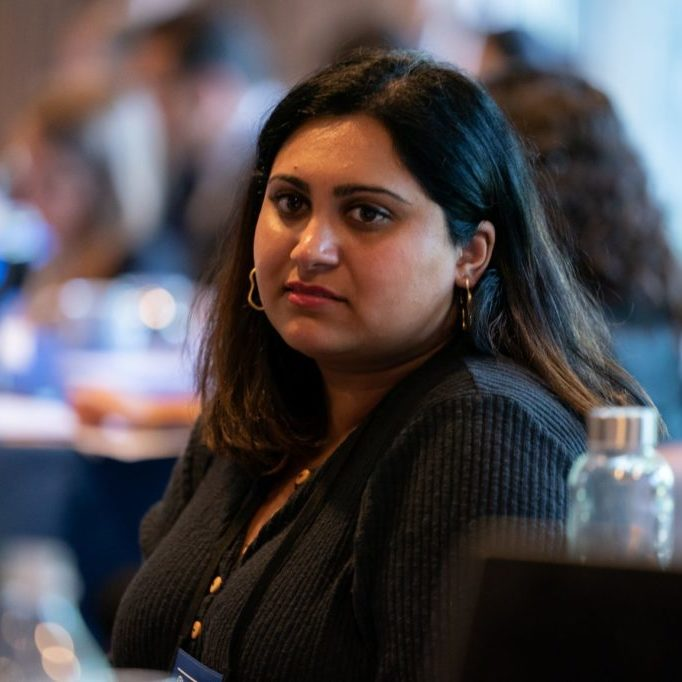Carter Center Fellow Fiza Pirani at The Carter Center, September 2019.