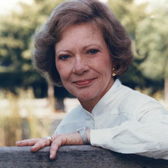 Rosalynn Carter Seated